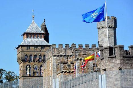 El castillo de Cardiff, sede de la cumbre de la OTAN en septiembre de 2014. (Foto: https://www.walesonline.co.uk)