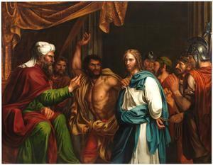 'Jesús en casa de Anás', de José de Madrazo y Agudo. Museo del Prado, Madrid.