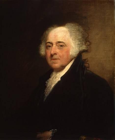 John Adams (30 de octubre de 1735-4 de julio de 1826) fue el segundo presidente de los Estados Unidos.