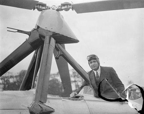 Juan de La Cierva y Codorníu, inventor del autogiro. (Foto: National Geographic)