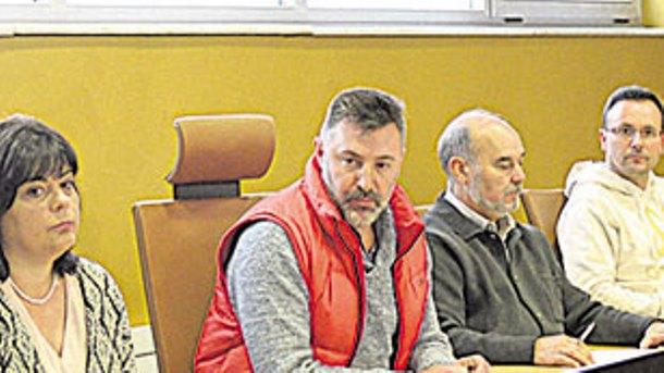 Juan Llamazares en el pleno de su dimisión