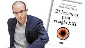 Yuval Noah Harari, '21 lecciones para el siglo XXI', Editorial Debate, 2018. (Ilustración: www.semana.com)