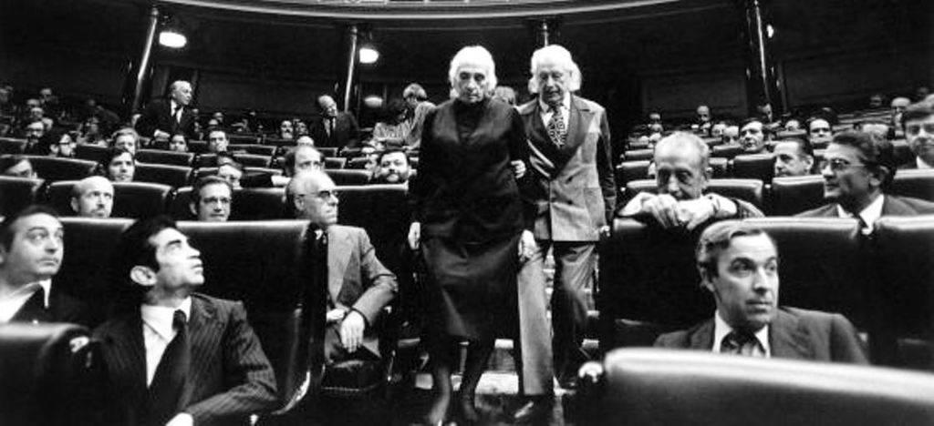 El Congreso de los Diputados en 1977