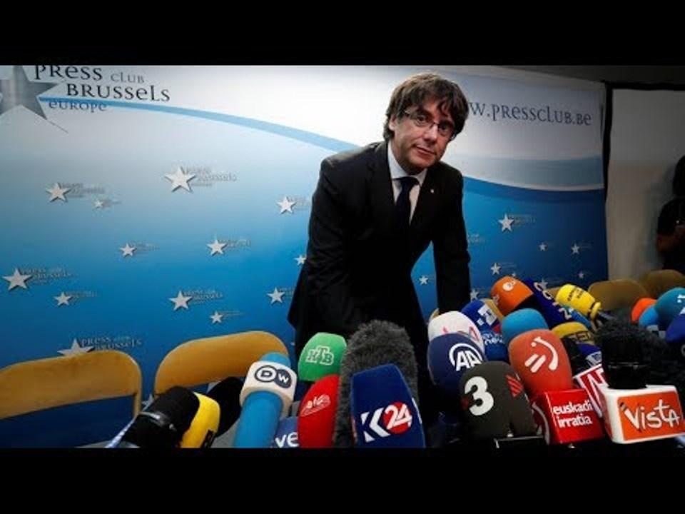 Carles Puigdemont desde Bruselas, esperpéntico paladín de la leyenda negra de España