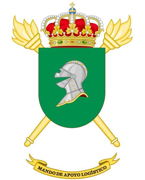 Escudo del Mando de Apoyo Logístico del Ejército de Tierra de España (MALE).