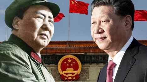 Los líderes chinos Mao Tse-tung y Xi Jinping. (Montaje de www.asia.nikkey.com/AP/Reuters/Getty Images).