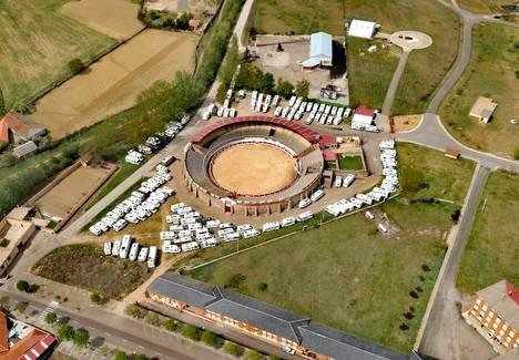 220 autocaravanas se concentran hoy en Astorga