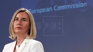 Federica Morgherini, alta representante de la Unión Europea para la Política Exterior. (Foto: www.efe.com)