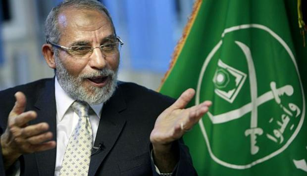 Mohamed Badía, presidente de los Hermanos Musulmanes de Egipto desde 2010 hasta su detención en 2013.