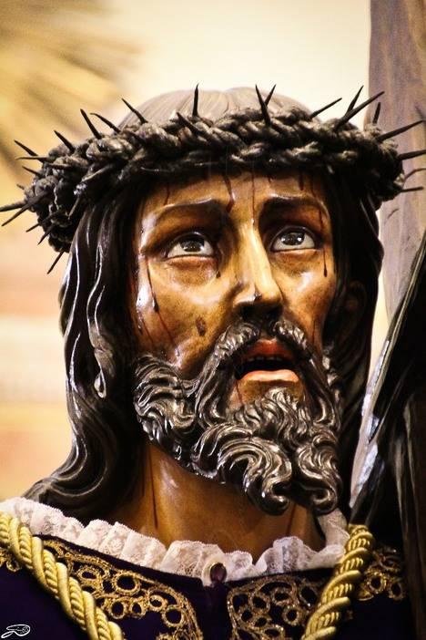 Detalle del paso 'Nuestro Padre Jesús Nazareno'. (Cofradía del Dulce Nombre de Jesús Nazareno, León)