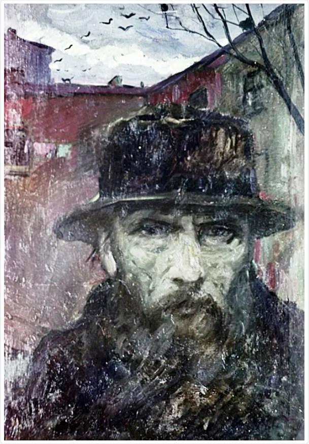 Retrato de Fiodor Dostoievski, por Ilya Glazunov.