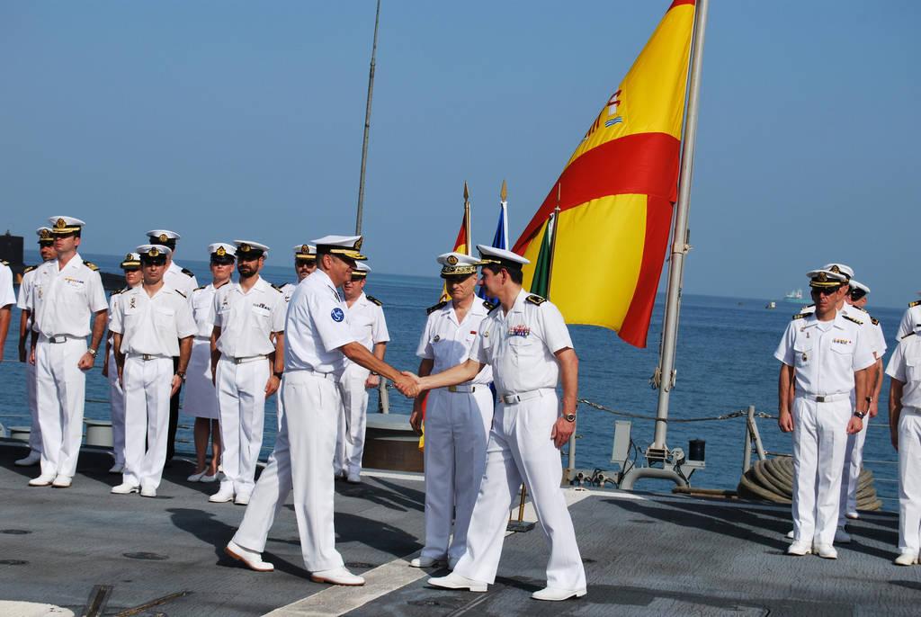 Relevo de la Fuerza al Mando de la Operación Atalanta (Ministerio de Defensa)