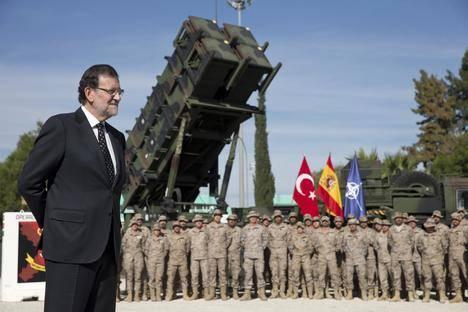Las tropas españolas en Turquía