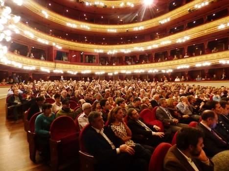 Gala de presentación en el Teatro Calderón de Valladolid