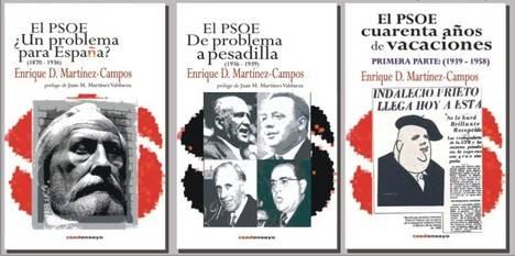 OFERTA DE NAVIDAD Los tres volúmenes de la Historia del PSOE a un precio de excepción