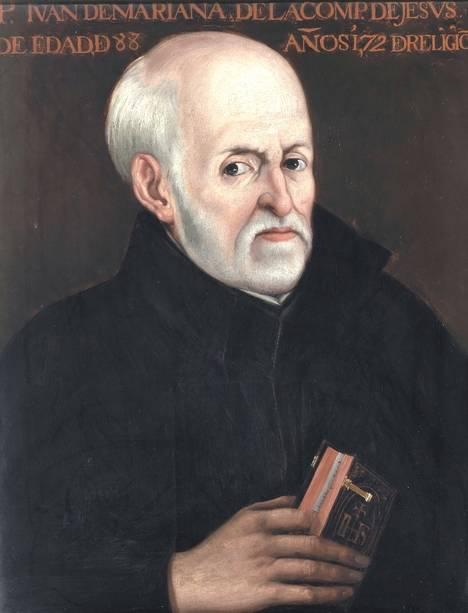 El padre Juan de Mariana, por Matías Moreno. Ca. 1878. (Museo del Prado, Madrid).