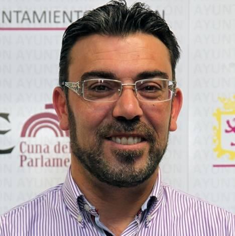 El concejal Pedro Llamas Dpmínguez