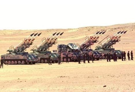 Fotografía -sin pie de foto- que ilumina la crónica de Lehbib Abdelhay /ECSel en https://www.ecsaharaui.com/, por lo que no sabemos si son fuerzas marroquíes o polisarias.