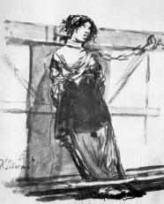 'Por liberal', de Francisco de Goya
