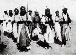 Primera Mía de Policía a Pie en 1926. (Foto: Hermandad de Veteranos de las Tropas Nómadas).