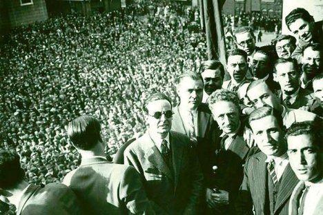 Proclamación de la República catalana. 1934. Foto: El Nacional.Cat