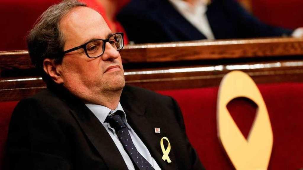 Quim Torra inhabilitado por el Tribunal Supremo. (Foto: RTVE)