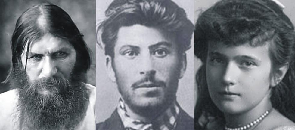Tres enigmas de la Rusia del siglo XX: Rasputín, Stalin y Anastasia
