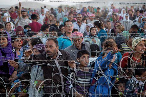 El drama de los refugiados sirios. (Foto: Mational Geographic).
