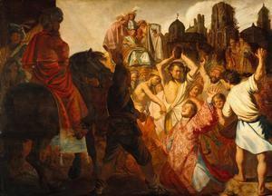 Rembrandt, 1625. Óleo sobre roble. Museo de Bellas Artes, Lyon, (Francia)