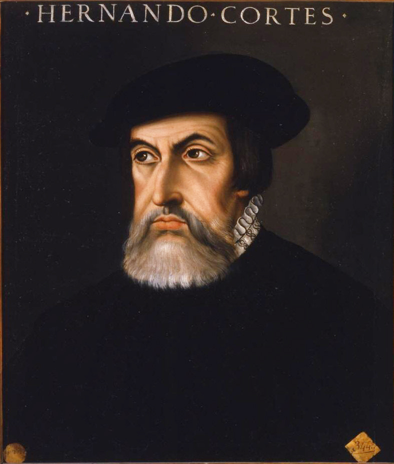 Hernán Cortés, conquistador español de Méjico. (Anónimo).