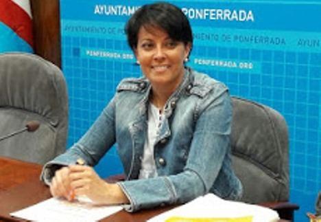 Rosa Luna, ayer 30/07/18 en el Ayuntamiento de Ponferrada (Portal informativo del Grupo Municipal Ciudadanos del Ayuntamiento de Ponferrada, León.)