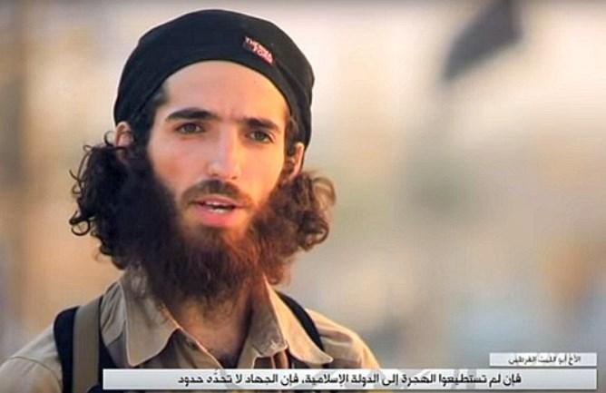 Amenazas del ISIS a España por boca de Yassin Ahram Pérez, en septiembre pasado.