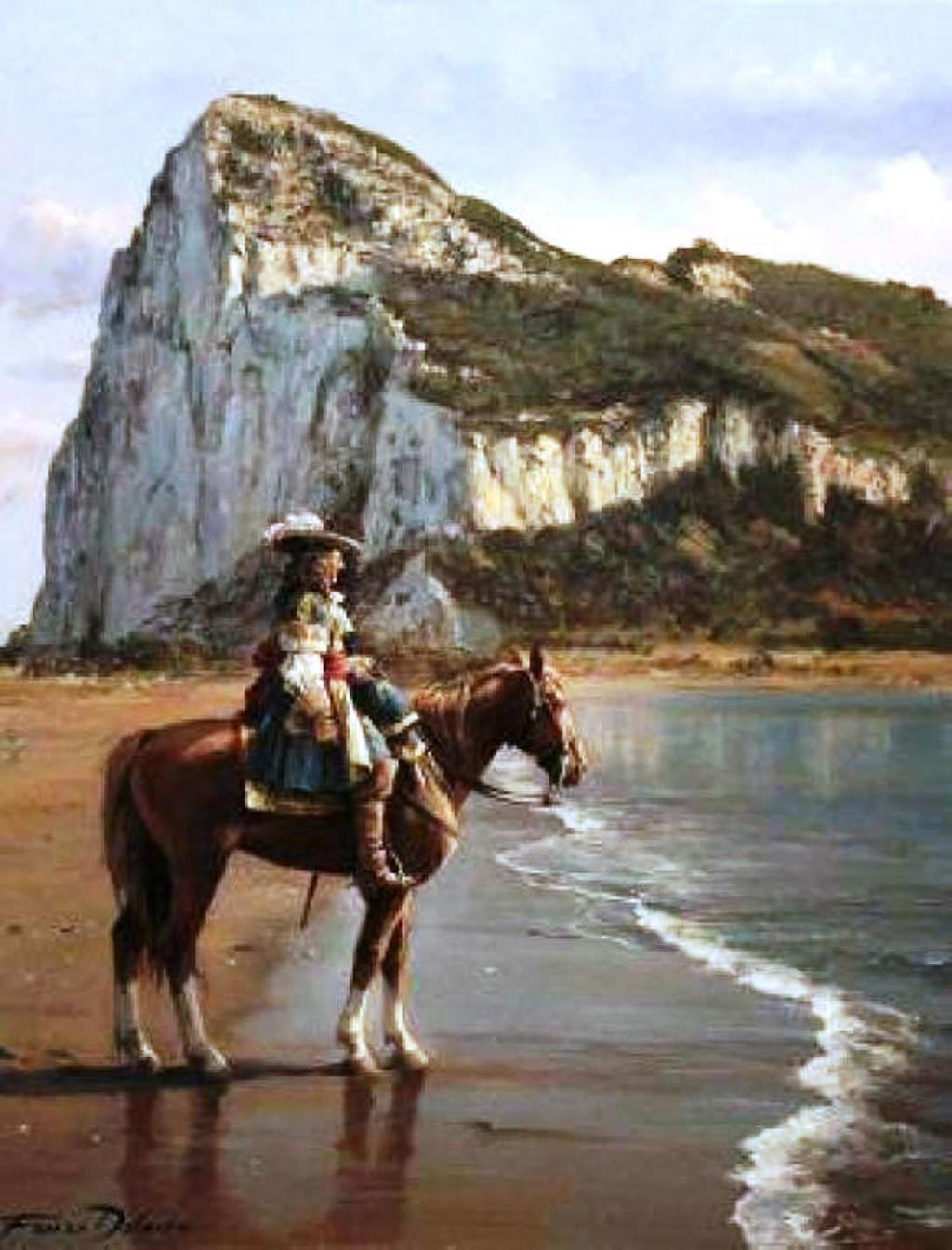 Diego de Salinas, último gobernador de Gibraltar. Foto: Wikimedia Commons / Augusto Ferrer-Dalmau / CC BY-SA 3.0. (TERCEROS)