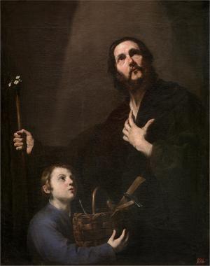 'San José y el Niño Jesús', de José de Ribera. Museo del Prado, Madrid.