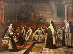 Santa Teresa de Jesús, de Benito Mercadé (Museo del Prado).