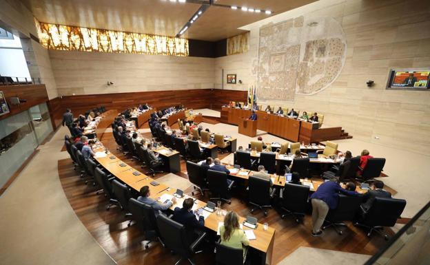 La Asamblea de Extremadura. (Foto: hoy.es)