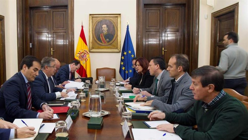Reunión de los sindicatos policiales con las autoridades del Ministerio del Interior
