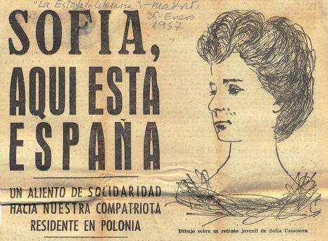 Sofía Casanova (La Coruña, 1862 - Poznan 1958)