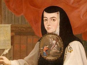 Sor Juana Inés de la Cruz (1648-1695), mejicana y española.