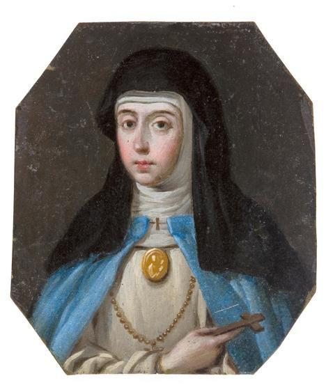 Sor María de Jesús de Ágreda. Anónimo. Museo del Prado, Madrid.