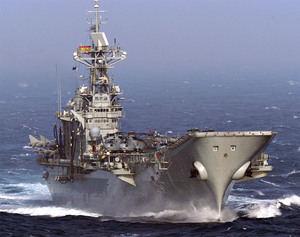 El portaviones español 'Príncipe de Asturias'