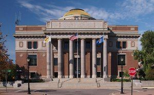 Palacio de justicia del condado de Stearns, Minnesota, USA. (Foto: https://commons.wikimedia.org/)