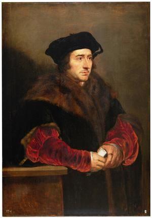 Santo Tomás Moro, por Pedro Pablo Rubens. Museo del Prado, Madrid.