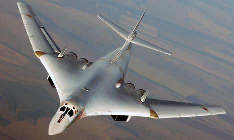 Bombarderos rusos en el espacio aéreo español interceptados por nuestros cazas F18
