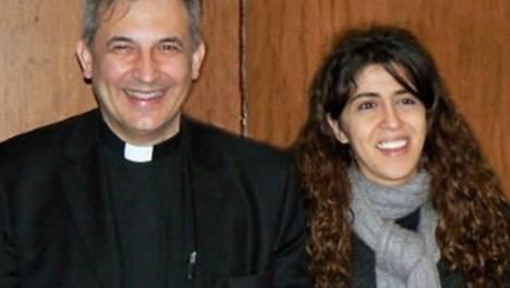 Ángel Lucio Vallejo Balda y Francesca Chaouqui. (Foto: www.revistaecclesia.com)