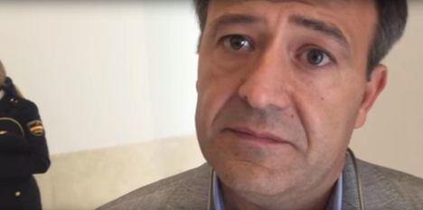 Víctor Duque, Secretario General del sindicato policial UFP. (Foto Cadena Ser)