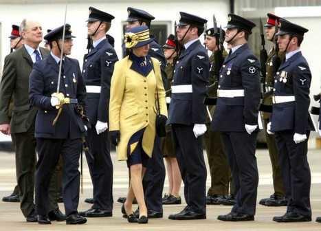 Visita de Ana de Inglaterra a Gibraltar en 2009. (Foto: RTVE).