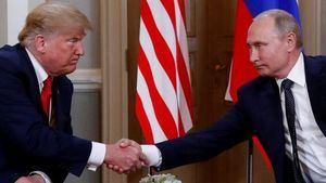 El expresidente de los EE UU Donald Trumo y el presidente de la Federación Rusa Vladimir Pitin. (Foto: www.bbc.com / Reuters).