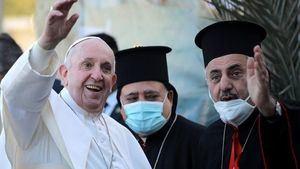 El Papa Francisco en su reciente visita a Irak. (Foto: www.bbc.com).