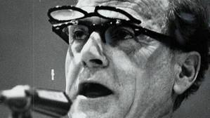 "Herbert Marshall McLuhan (1911 - 1980), para muchos ""el profeta de Internet"". (Foto: www.bbc.com)"